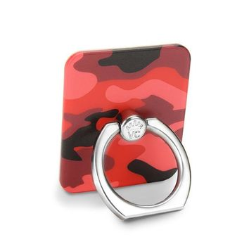 Red Camo Phone Ring