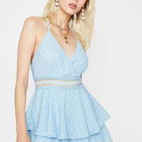 Teenage Sweethearts Ruffle Romper