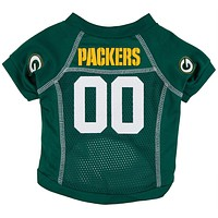 Green Bay Packers - Team Colors Dog Jersey