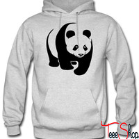 panda teddy bear face cute animal save hoodie