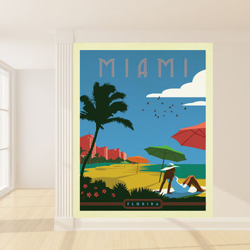 Anderson Design Group's Miami Mural wall decal