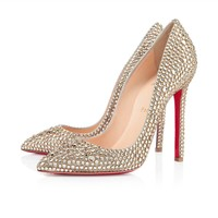 Pigalle Strass 120mm Gold
