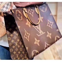 LV fashion casual lady printed shoulder bag hot seller shopping bag