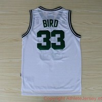 Larry Bird Boston Celtics 33 Hardwood Classic NBA Basketball Jersey Larry Bird Boston