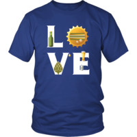 Beer - LOVE Beer  - Drinks Shirt