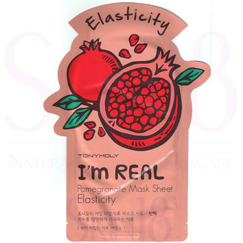 TonyMoly I'm Real Face Mask Sheet - Pomeranate