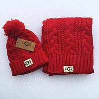 UGG men and women winter knit fashion hats & scarve