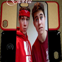 Taylor Caniff And Nash Grier iPhone case Samsung Galaxy Case iPhone 4 iPhone 5 iPhone 5C Samsung Galaxy S4 Samsung Galaxy S5 Galaxy mini