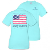 *Simply Southern Tee-American Flag