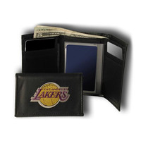 Los Angeles Lakers NBA Embroidered Trifold Wallet