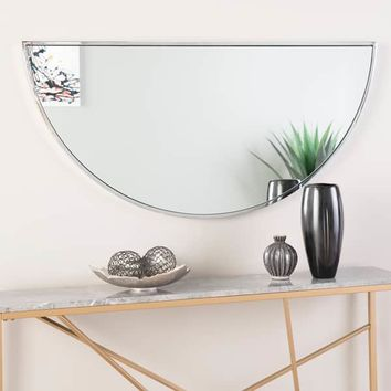 """Holly & Martin Wyndowlyn Arched Mirror 48"""", High Gloss Black 