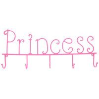 Pink Princess Wall Art with 5-Hooks | Hobby Lobby | 515833