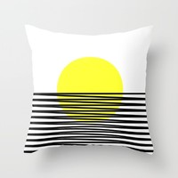 suton Throw Pillow by Trebam | Society6
