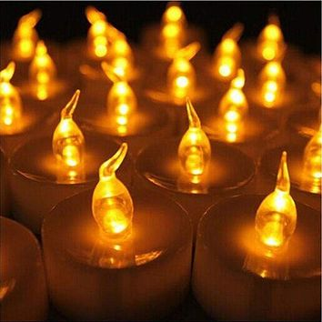 Mini LED Tea Lights Candles-24 pcs