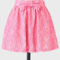 Fall In Love Bow Skirt