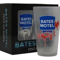Bates Motel Color Changing Pint Glass 2pc Gift Set