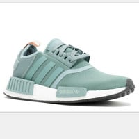 """Women """"Adidas"""" NMD Boost Casual nmd Sports Shoes Green"""