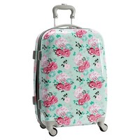 Hard-Sided Garden Party Floral Carry-On Spinner
