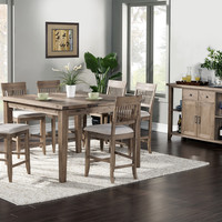 Alpine Aspen Extension Pub Table with Butterfly Leaf