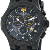 Caterpillar Mens Carbon Chrono Analog Watch
