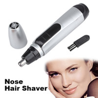 Nose Ear Face Hair Electric Trimmer Shaver Cleaner Removal Clipper Shaver for Man Women Eyebrow Shaver Makeup Tools T2N2