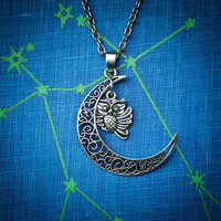 Night Owl Necklace Free Shipping