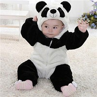 FT11664 Baby Animal Costume Onesuit Climbing Pajamas Romper Jumpsuit Coverall
