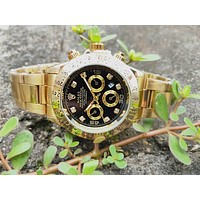 Rolex men and women fashion quartz watch
