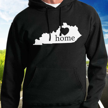 Kentucky Home Hoodie - State Pride - Home - Clothing