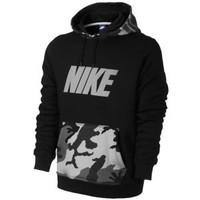 Nike Club PO Hoodie Woodland Camo - Men's