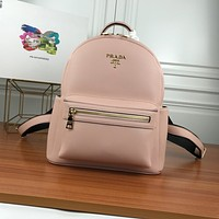 PRADA WOMEN'S LEATHER BACKPACK BAG