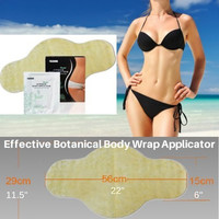 Slimming Body Wrap Applicator Patch to Tone Firm Detox and Hydrate! Advance Formula with Potent Fat Burning and Slimming Ingredients to Reduce Cellulite! See How It Works!