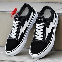 Revenge x Storm Old Skool x VANS Canvas Flats Sneakers Sport Shoes