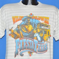 90s Wild Wild West Fiesta Texas Cowboy t-shirt Medium