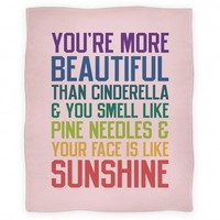 You're More Beautiful Bridesmaids Quote