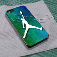 Space Jordan For - iPhone 4 4S iPhone 5 5S 5C and Samsung Galaxy S3 S4 S5 Case