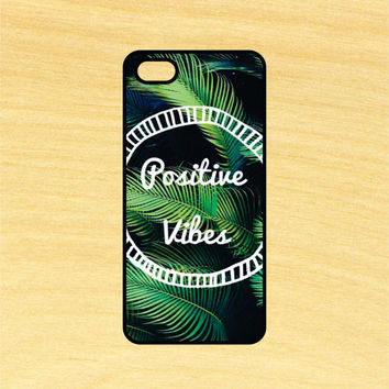 Positive Vibes Art Phone Case iPhone 4 / 4s / 5 / 5s / 5c /6 / 6s /6+ Apple Samsung Galaxy S3 / S4 / S5 / S6