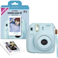 Fujifilm Instax Mini 8 INS MINI 8 BLUE N Instant Camera 62 x 46mm (Blue)