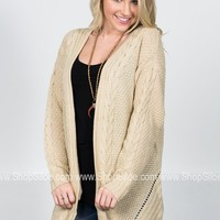 Susan Rope Knit Cardigan