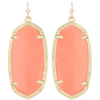 Kendra Scott Elle Earrings - Coral
