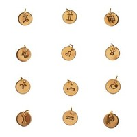 Extra Zodiac Sign, Add Tiny Personalized Zodiac to Any Necklace, 14k Gold Filled or Sterling Silver