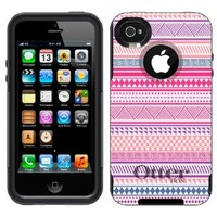 Otterbox Commuter Aztec Andes Vintage Tribal Pattern Case for Apple iPhone 4