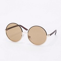 Quay Cara Sunglasses in Gold - Urban Outfitters