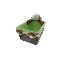 "Babies""R""Us Plush Monkey Nursery Basket"