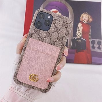 GG iPhone Phone Cover Case For iPhone Phone Cover Case For iphone 7 7plus 8 8plus X XR XS MAX 11 Pro Max 12 Mini 12 Pro Max