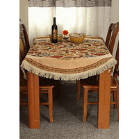 Tache Colorful Floral Country Rustic Morning Meadow Tablecloths (DBTC-3098)