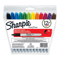 Sharpie Permanent Fine Point Markers Assorted Colors Pack Of 12 by Office Depot & OfficeMax