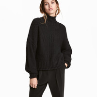 H&M Chunky-knit Sweater $19.99
