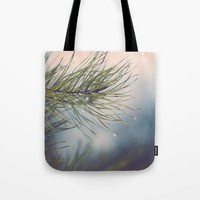Driplets Tote Bag by Emilytphoto