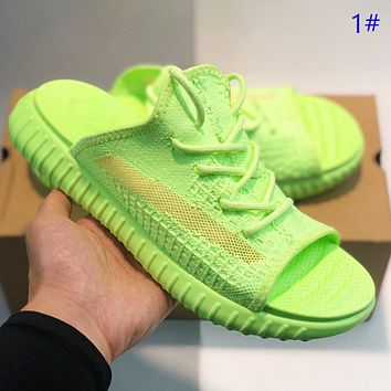 Adidas 350v2 New fashion couple  shoes flip flop slippers 1#